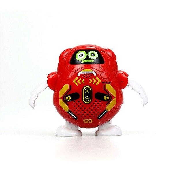 Talkibot Silverlit Robot - Vermelha - DTC