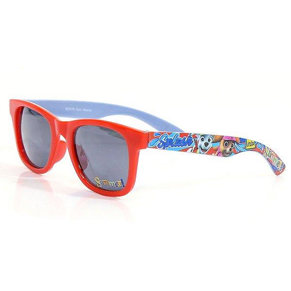 Óculos de Sol Patulha Canina - Vermelho - DTC