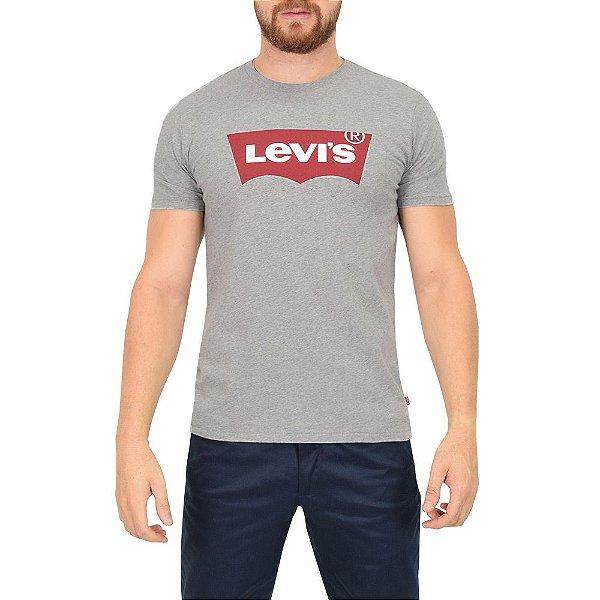 Camiseta Logo Originals Levis - Cinza - Levis