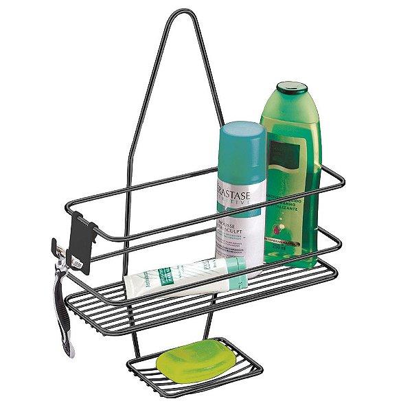 Suporte Para Shampoo e Sabonete de Registro Ônix - Future