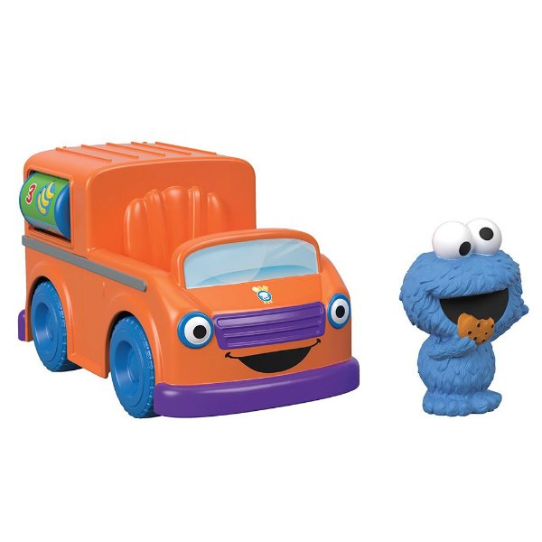 Sésamo Veículos - Food Truck do Come Come - Fisher Price
