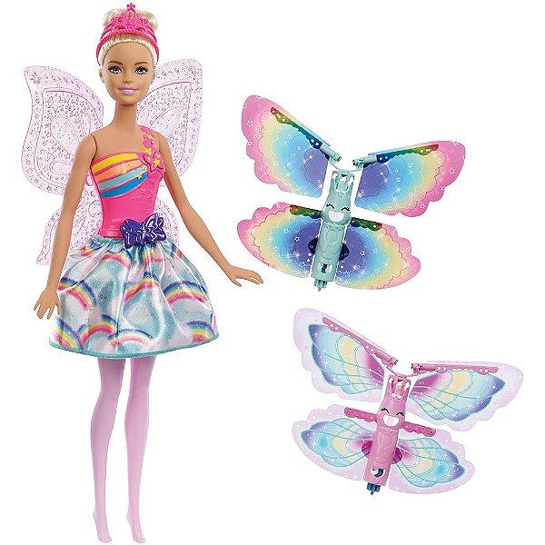 Boneca Barbie Dreamtopia Asas Voadoras - Mattel