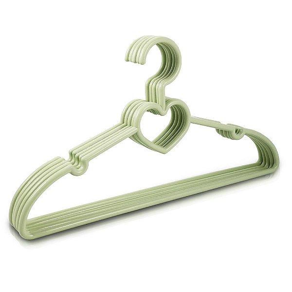 Kit de Cabides Baby - 5 Peças - Verde - Jacki Design