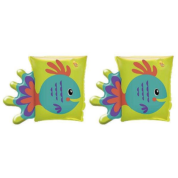 Boia de Braços Bichinhos - Peixe Verde - Mor