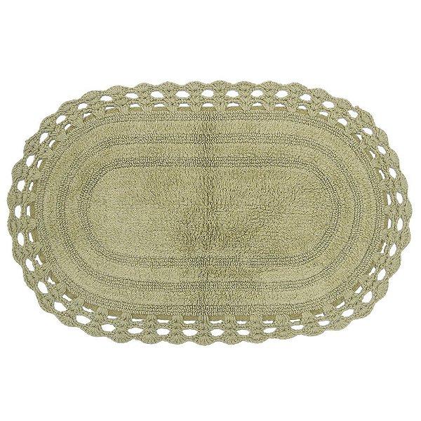 Tapete Oval de Crochê 50cm x 80cm - Fend - Kacyumara