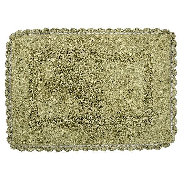 Tapete Retangular de Crochê 50cm x 70cm - Fend - Kacyumara