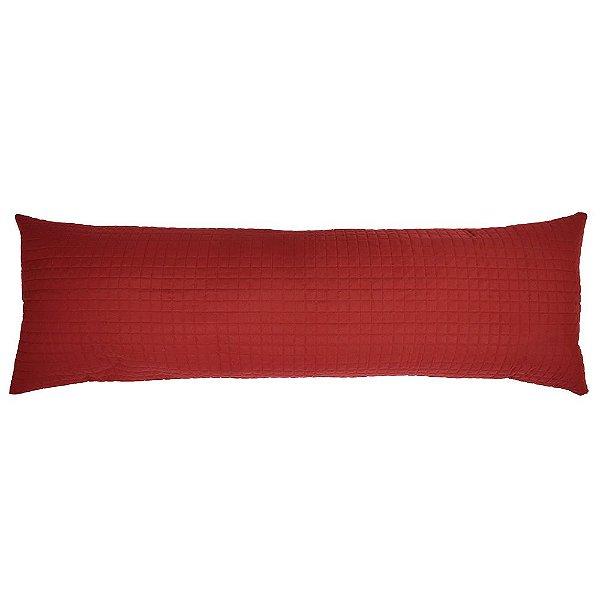 Porta Travesseiro Abraço Plaza - Vermelho - Lavive