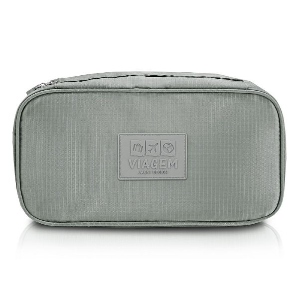 Bolsa Porta Lingerie - Cinza - Jacki Design