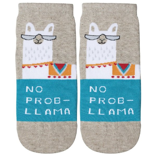 Meia Soquete Feminina Socks - Lhama - Lupo