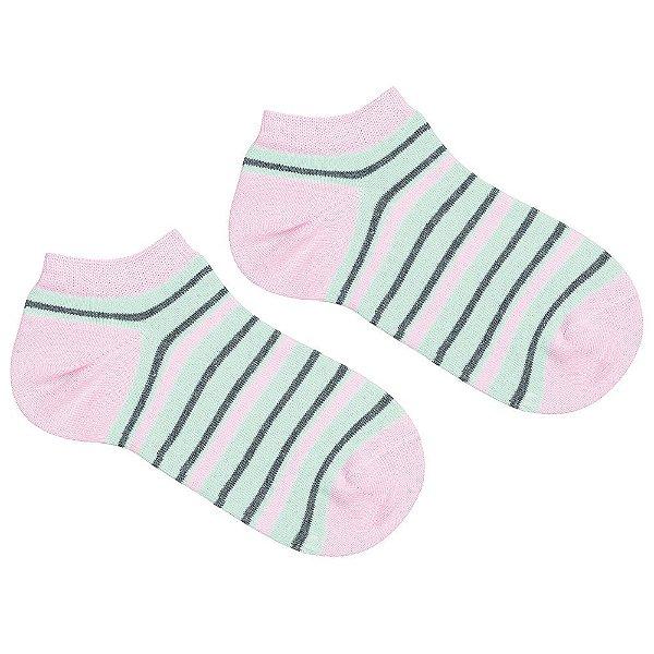 Meia Soquete Feminina Socks - Listrada - Lupo