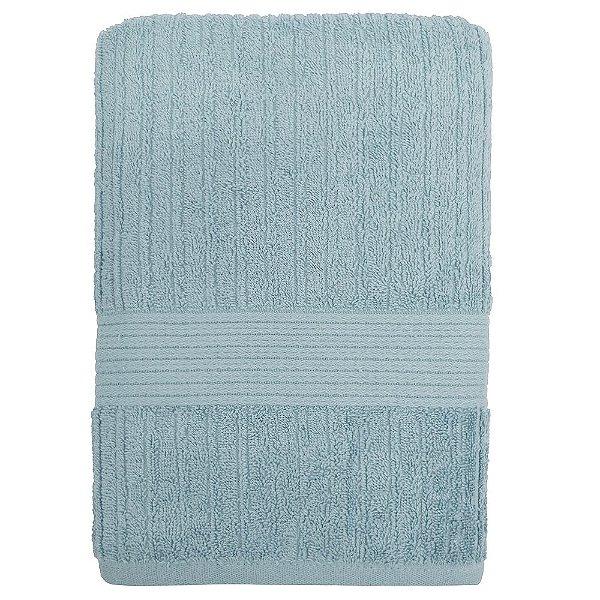 Toalha de Banho Canelada Fio Penteado - Azul Claro 1067 - Buddemeyer