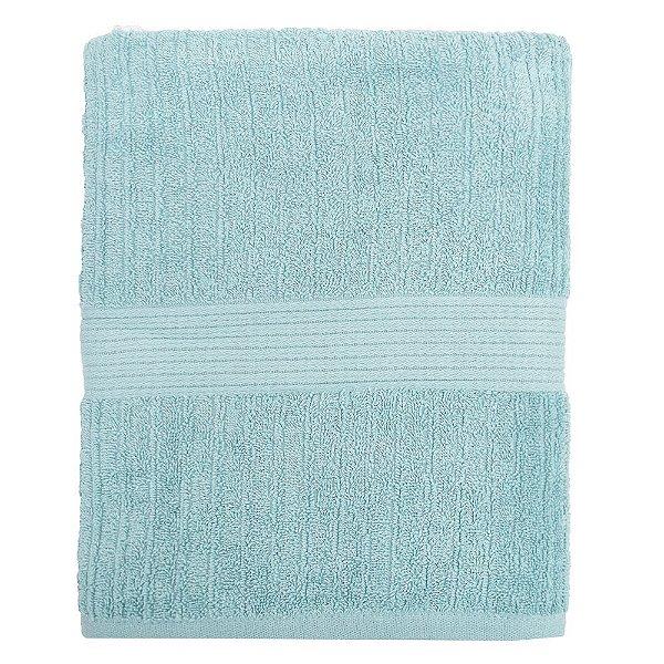 Toalha de Banho Gigante Canelada Fio Penteado - Azul 1067 - Buddemeyer