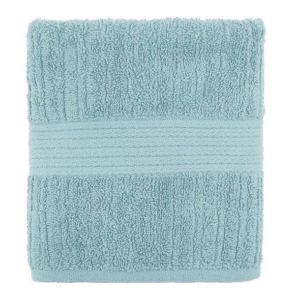 Toalha de Rosto Canelada Fio Penteado - Azul 1067 - Buddemeyer
