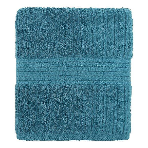 Toalha de Rosto Canelada Fio Penteado - Azul 1275 - Buddemeyer