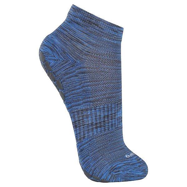 Meia Sport Antiderrapante - Azul Texturizada - Lupo