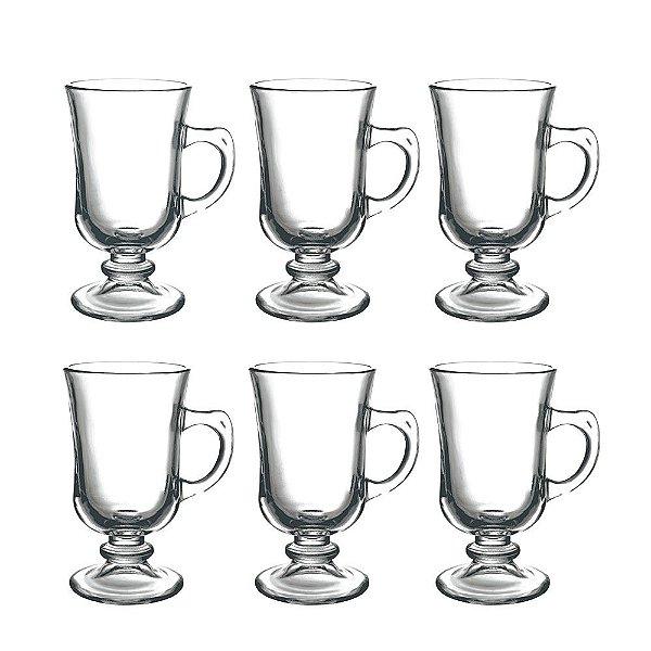 Jogo de Xícaras Irish Coffee 120ml - 6 Peças - Dynasty