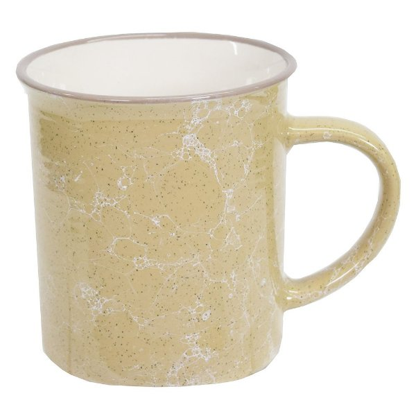 Caneca Marble Colors 290ml - Caqui - Mimo Style