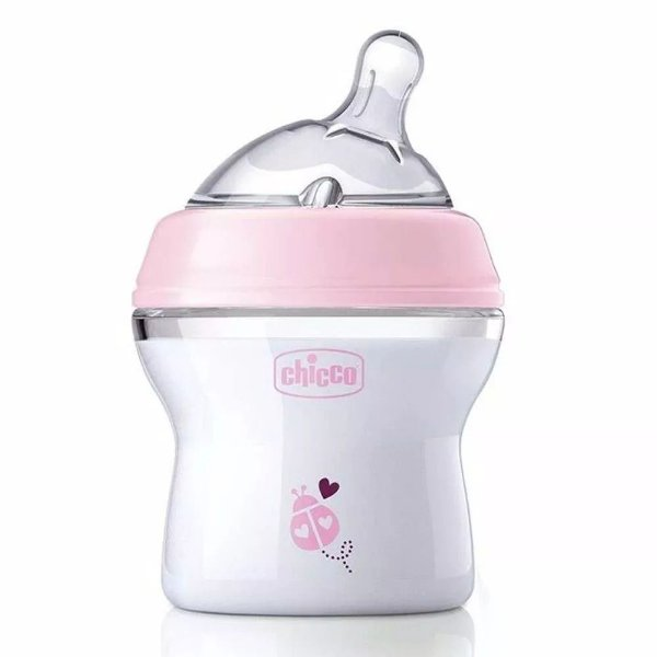 Mamadeira Step Up Rosa 150ml - Recém Nascidos - Chicco