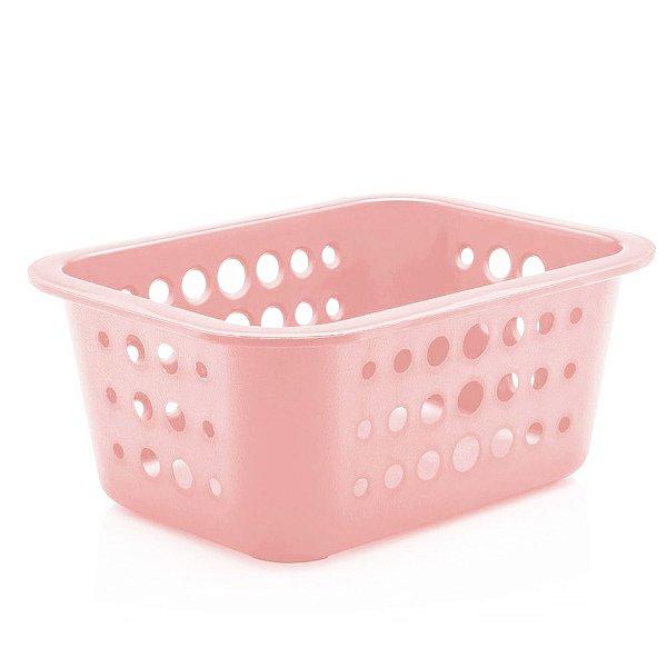 Caixa Organizadora Pequena - Rosa Quartz - Ou