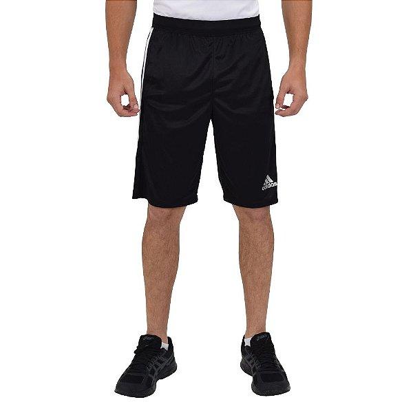 6c7953c865 Short Masculino D2M 3-Stripes - Preto - Adidas - Casa Joka