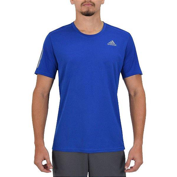 Camiseta Masculina Response - Azul - Adidas