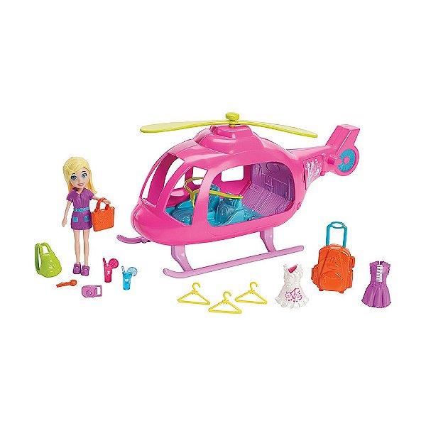 Polly Helicóptero Popstar - Mattel