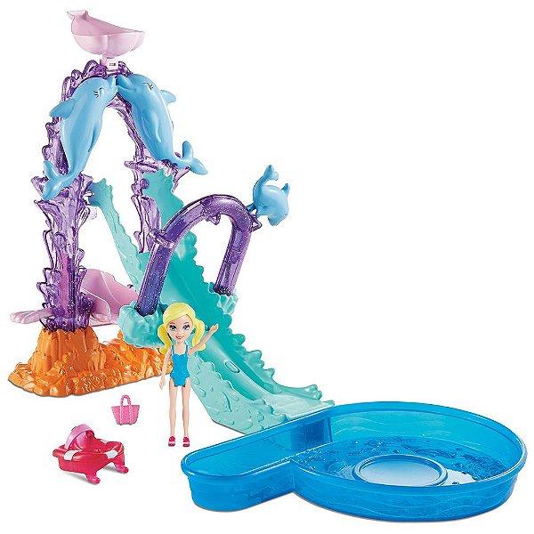 Polly Pocket - Parque Aquático dos Golfinhos - Mattel
