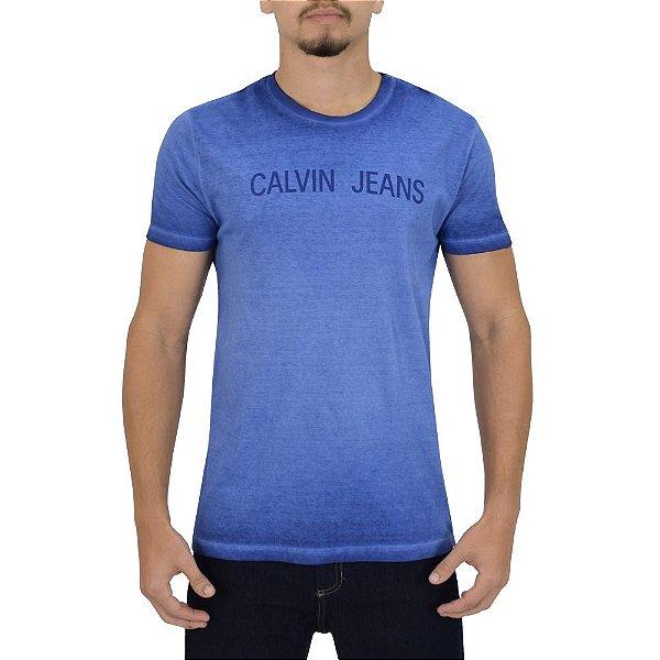 Camiseta Masculina Estonada - Calvin Klein