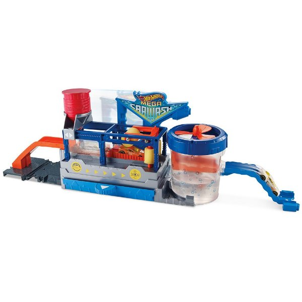 Hot Wheels Mega Lava Rápido - Mattel