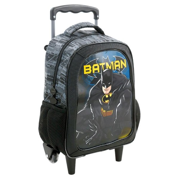 "Mochila de Carrinho Lenticular 16"" Batman - Xeryus"