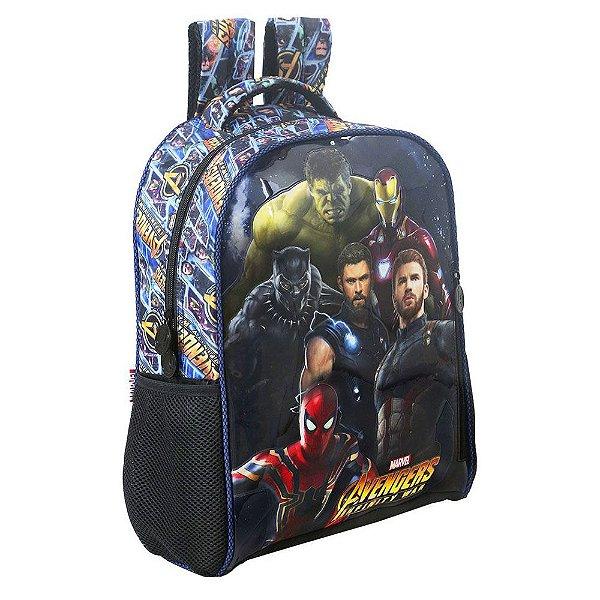 "Mochila de Costas 16"" Avengers Infinity War - Super Heróis - Xeryus"