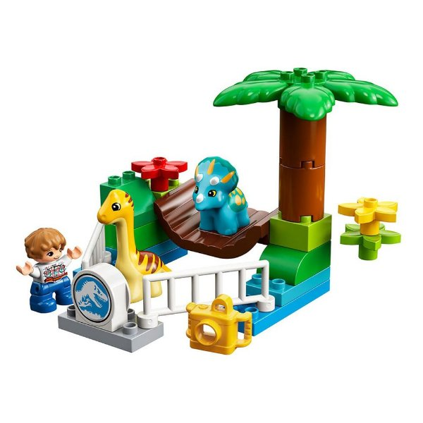 Lego Duplo Infantil Jurassic World - Zoológico Gigante - 24 Peças - Lego