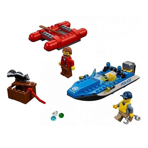 Lego City - Fuga do Rio Furioso - 126 Peças - Lego