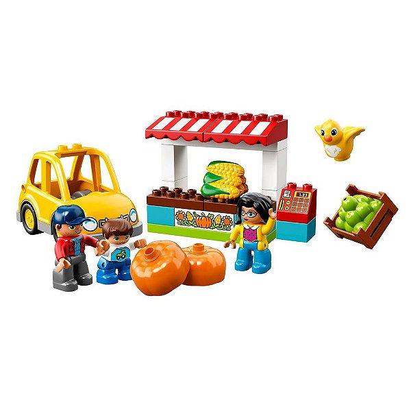 Lego Duplo Infantil - Mercado de Fazendeiros - 26 Peças - Lego