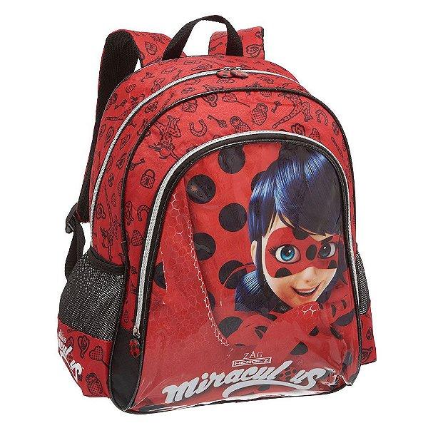 Mochila de Costas + Máscara - Miracolous Ladybug - Pacific