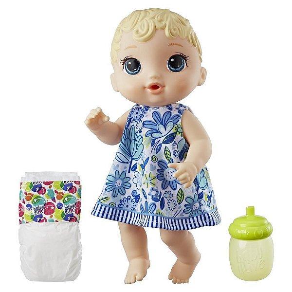 Boneca Baby Alive Hora do Xixi - Loira - Hasbro