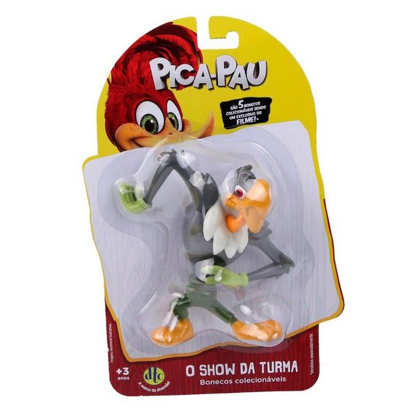 Boneco Pica Pau - Zeca Urubu - DTC