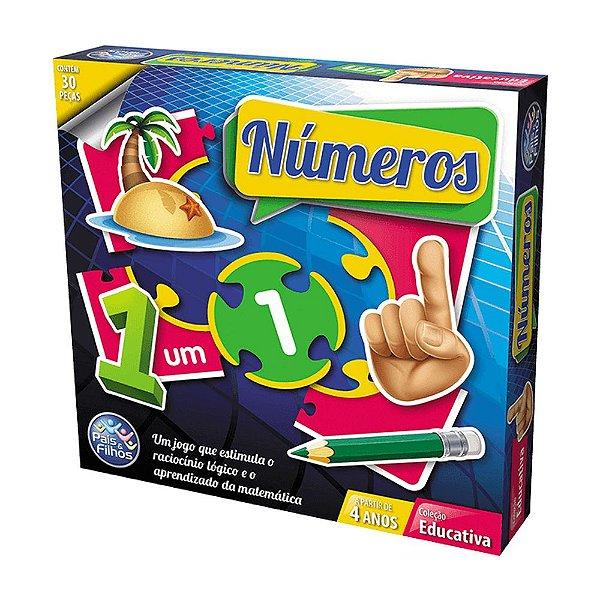 Jogo dos Números Educativo - Pais e Filhos