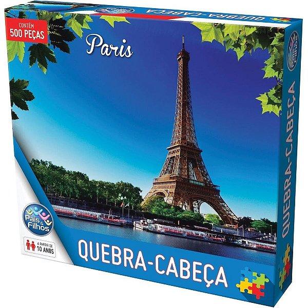 Quebra-Cabeça Paris - 500 Peças - Pais e Filhos