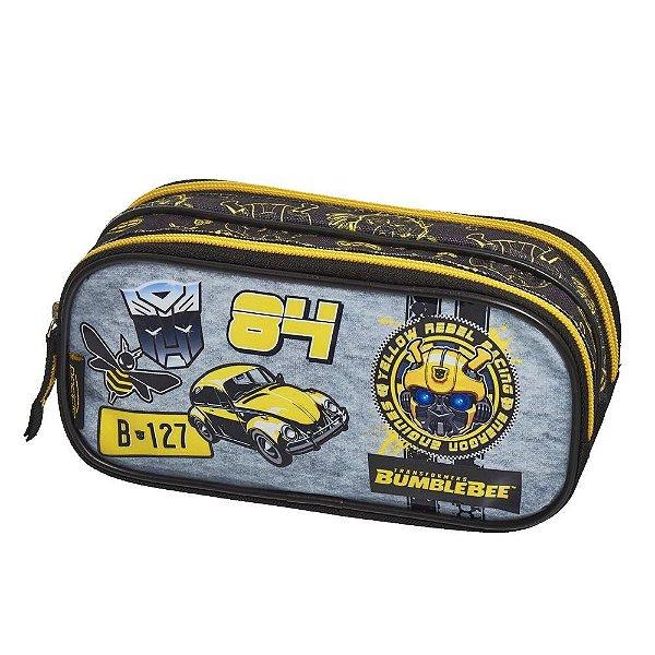 Estojo Duplo Transformers Bumblebee - Pacific