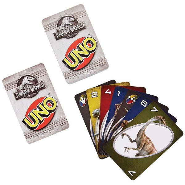 Jogo Uno Jurassic World - 110 Cartas - Copag