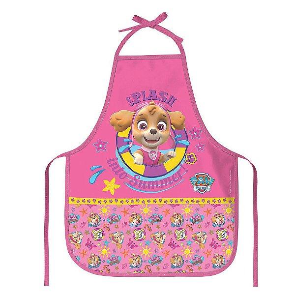 Avental Escolar Infantil Patrulha Canina - Skye - DAC