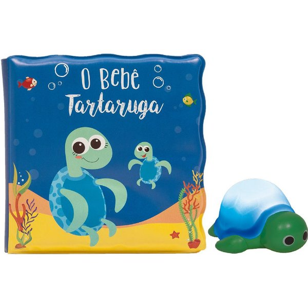 Livrinho de Banho - O Bebê Tartaruga - Buba