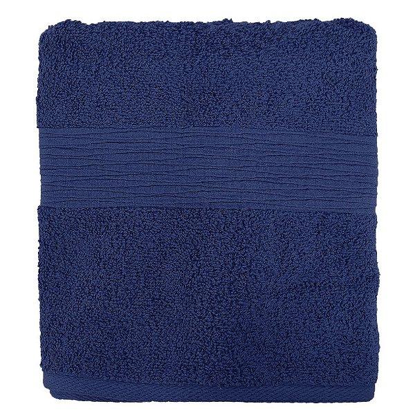 Toalha de Rosto Advanced Ondas - Azul Marinho 10743 - Döhler