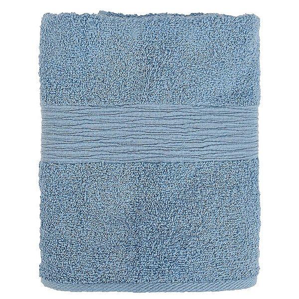 Toalha de Rosto Advanced Ondas - Azul Claro 5010 - Döhler