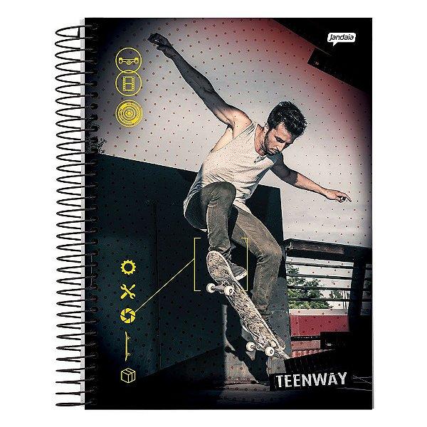Caderno Teen Way - Manobra da Quadra - 1 Matéria - Jandaia