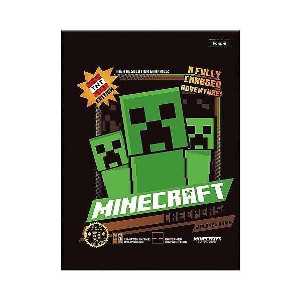 Caderno Brochura Pequeno Minecraft - TNT Edition - Foroni