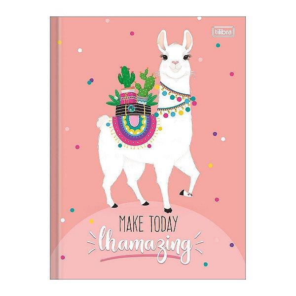 Caderno 1/4 Brochura Hello! - Make Today - 80 Folhas - TIlibra