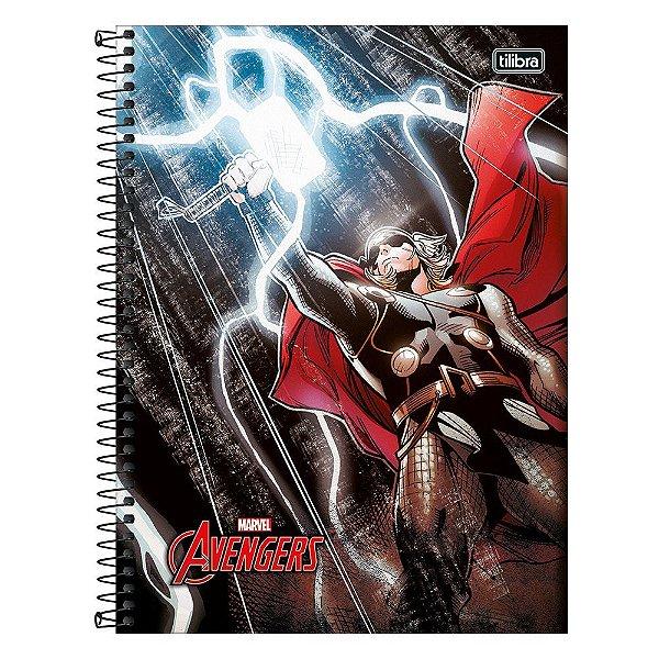 Caderno Avengers - Thor - 10 Matérias - Tilibra