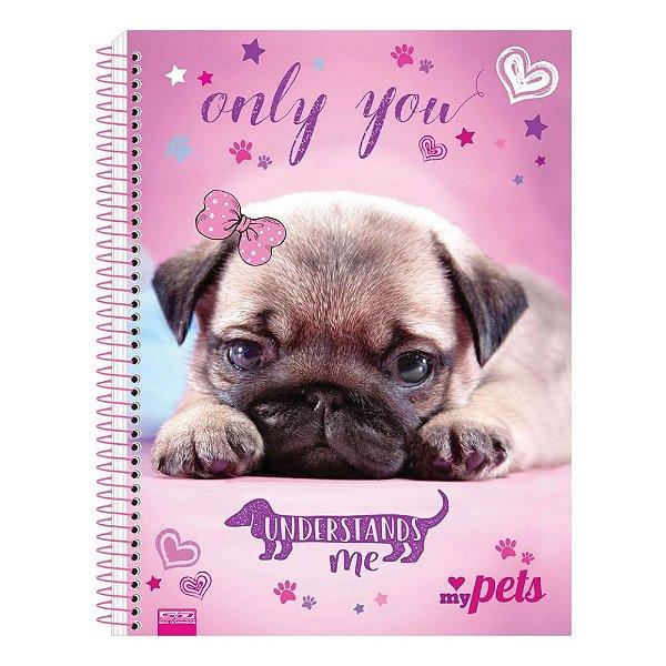 Caderno My Pets - Only You - 10 Matérias - São Domingos